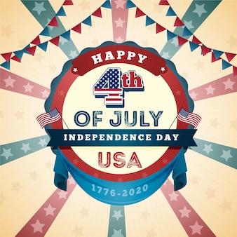 Koncepcja usa dzień niepodległości