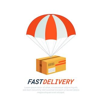 Koncepcja usługi dostawy