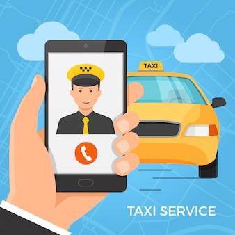 Koncepcja usługi taxi