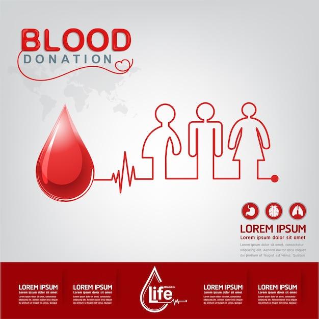 Koncepcja wektor krwiodawstwo - szpital, aby rozpocząć nowe życie ponownie