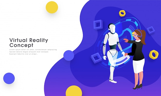 Koncepcja wirtualnej rzeczywistości.