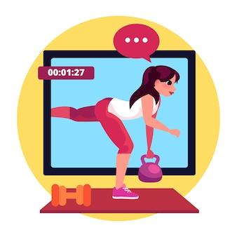 Koncepcja wirtualnej siłowni