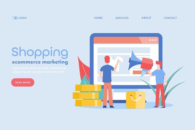 Koncepcja witryny ecommerce