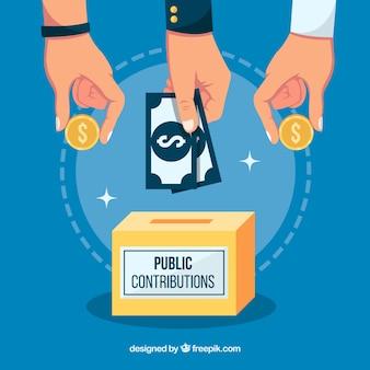 Koncepcja wkładu publicznego