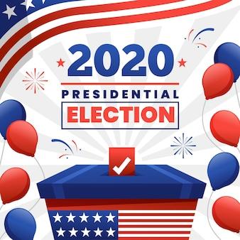 Koncepcja wyborów prezydenckich w usa w 2020 r