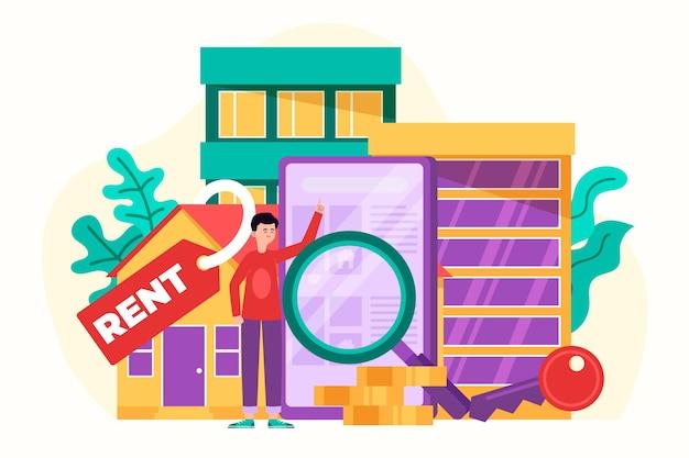 Koncepcja wyszukiwania nieruchomości miejskich