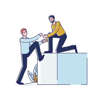 Koncepcja wzajemnej pomocy w karierze i biznesie