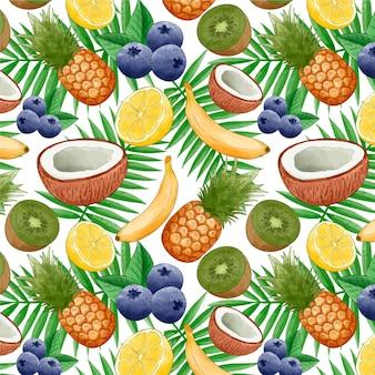 Koncepcja wzór owoce