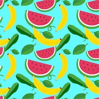 Koncepcja wzór owoców