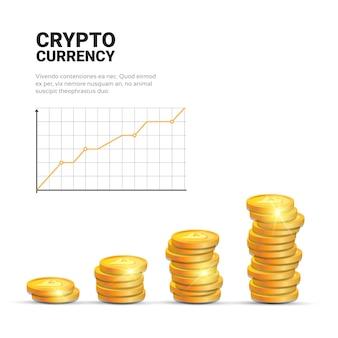 Koncepcja wzrostu bitcoinów