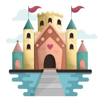 Koncepcja zamku bajki