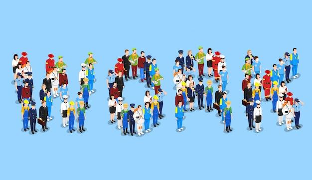 Koncepcja zawodów osób pracy