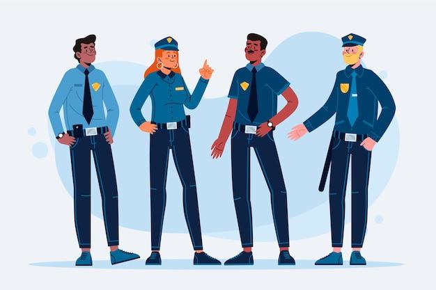 Koncepcja zbiórki policji