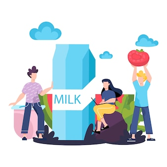 Koncepcja zdrowej żywności. idea ekologicznego menu i naturalnego odżywiania. gotowanie ze świeżych składników. pielęgnacja ciała i zdrowia. pojęcie zdrowego stylu życia.
