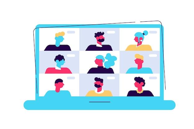 Konferencyjne połączenie wideo, zdalne zarządzanie projektami, kwarantanna, praca z domu