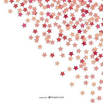 Konfetti w kształcie gwiazdki