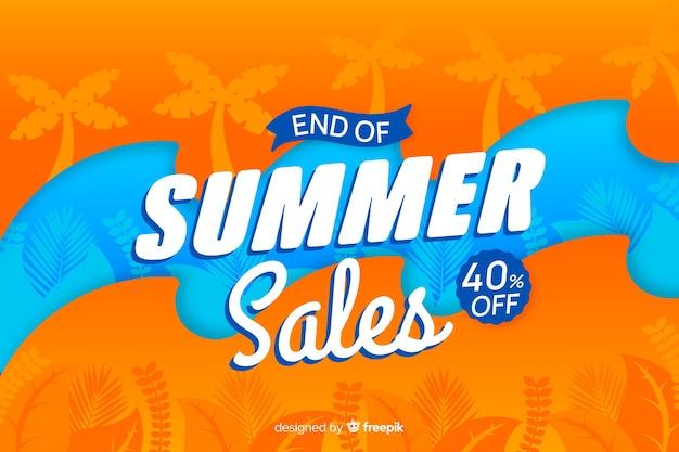 Koniec letniej sprzedaży