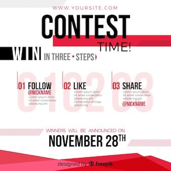 Konkurs w mediach społecznościowych lub gratisów
