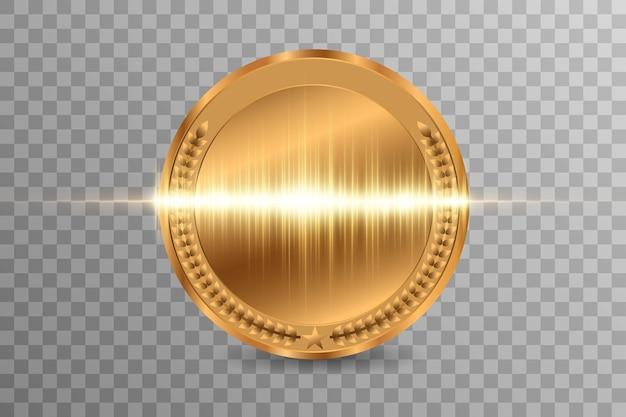 Konkurs z nagrodą dla zwycięzcy, medal z nagrodą i baner na tekst.