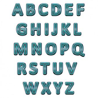 Konstrukcja alfabet