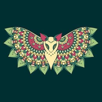 Konstrukcja boho style background