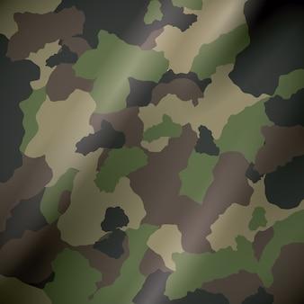 Konstrukcja kamuflażu wojskowego.