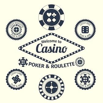 Konstrukcja kasyno tła