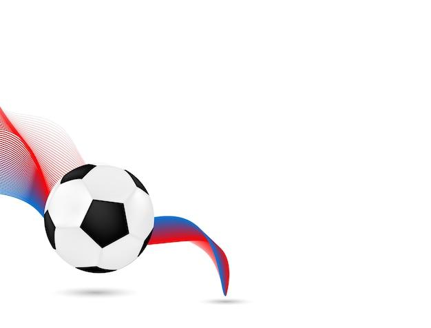Konstrukcja piłka nożna piłki stylowy tło