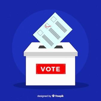Konstrukcja skrzynki wyborczej