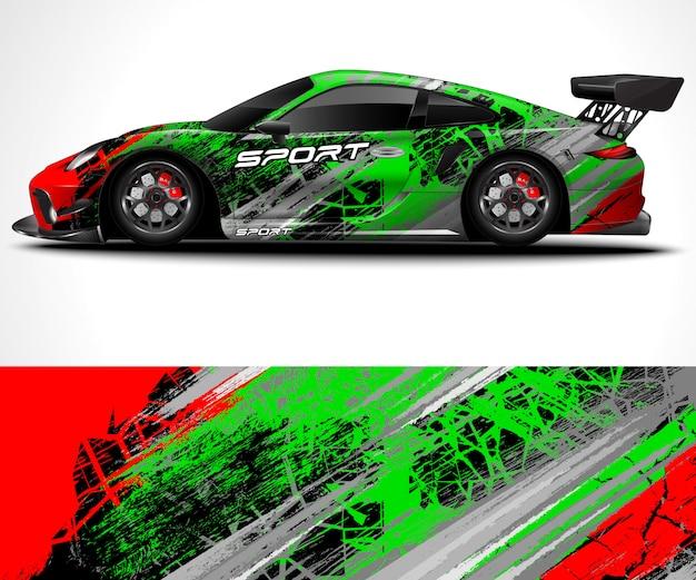 Konstrukcja sport car wrap i kolorystyka pojazdu