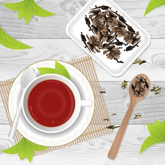 Konstrukcja tea tle