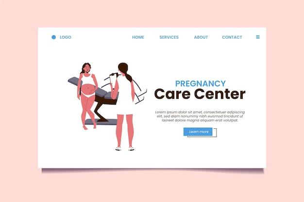 Konsultacja ciążowa - landing page