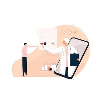 Konsultacja lekarska online, koncepcja online lekarza