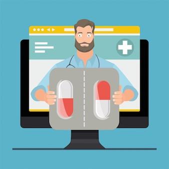 Konsultacja lekarska online, lekarz online.