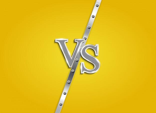 Kontra litery walczą w tle. ilustracja