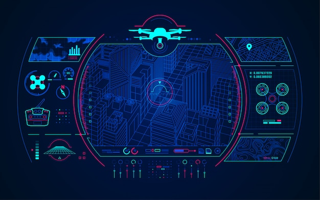 Kontrola drone