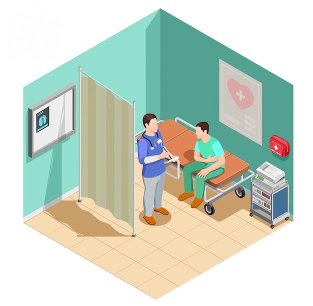 Kontrola w składzie izometrycznym lekarza