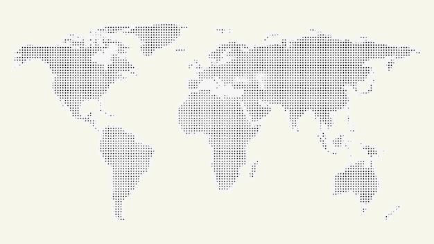 Kontynenty na tle świata
