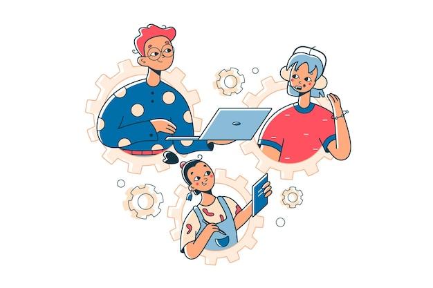 Koordynacja relacji między ludźmi pracy