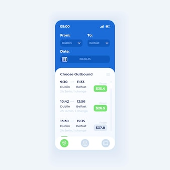 Kopia zapasowa szablon wektor interfejsu smartfona aplikacji. lekki układ strony aplikacji mobilnej. ekran oprogramowania do przechowywania w chmurze. płaski interfejs użytkownika do aplikacji. zaloguj się i zarejestruj przyciski na wyświetlaczu telefonu.