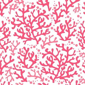 Koral wzór tekstury wodorosty morskie rafa streszczenie ocean kwiatowy podwodne grafiki