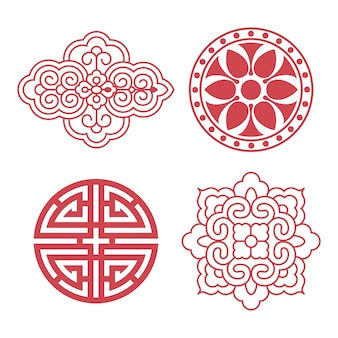 Koreański tradycyjne elementy projektu