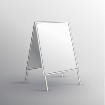 Korek klienta prezentacja banner makieta