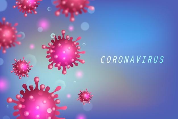 Koronawirus koncepcji ilustracji.