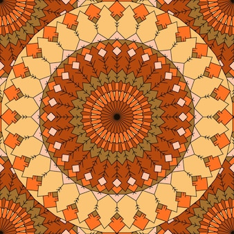 Koronki ręcznie rysowane bezszwowe abstrakcyjne tło z wieloma szczegółami do projektowania jedwabnej apaszki lub drukowania na tekstyliach