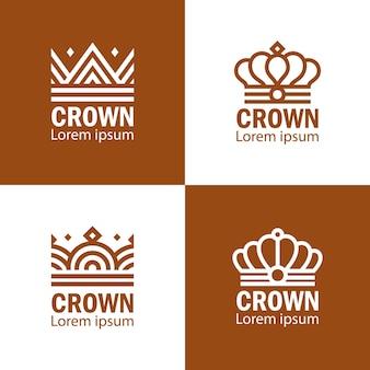 Koronowany królewski biznes królewski
