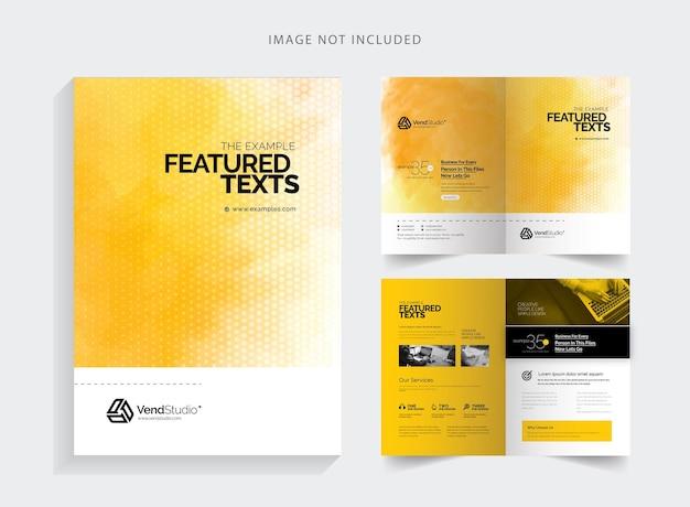 Korporacyjna broszura biznesowa