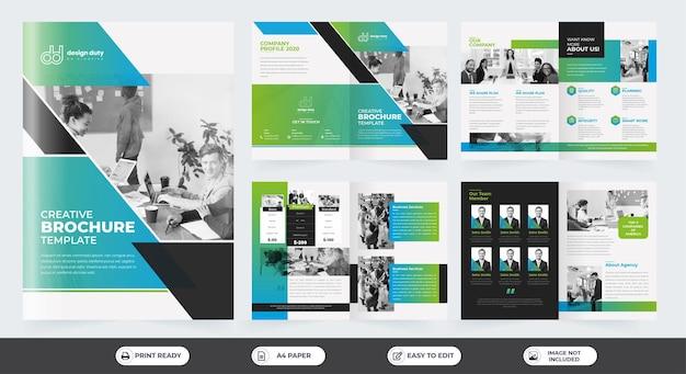 Korporacyjne szablony broszur biznesowych