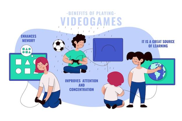 Korzyści z grania w gry wideo