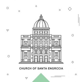 Kościół świętego santa engrccia